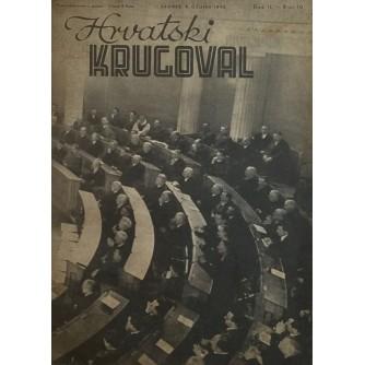 HRVATSKI KRUGOVAL 1942. BROJ 10
